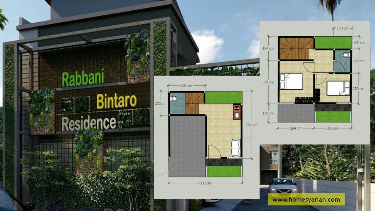www.homesyariah.com-perumahan-syariah-bintaro-rabbani-bintaro-residence-003